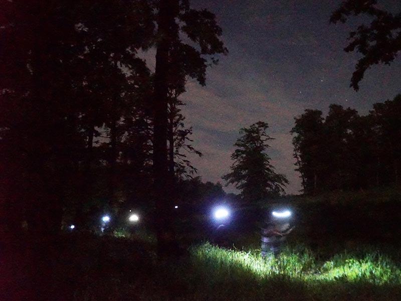 Éjszakai túra a Mátrában