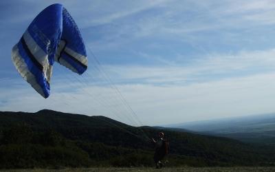 Mátra siklóernyő repülés